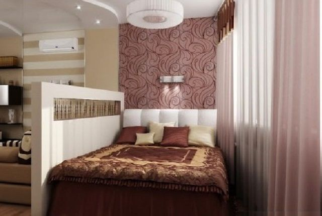 Great selection sleeping area by a low wall and finishing features