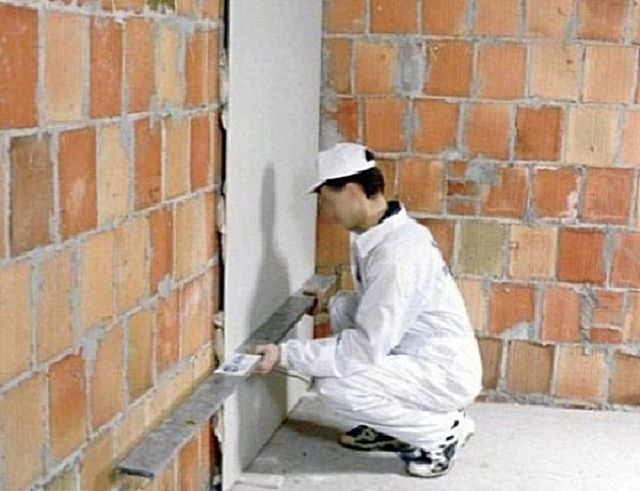 Bonding of plasterboard to the wall surface
