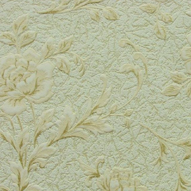 Non-woven wallpaper lend themselves to repeated dyeing