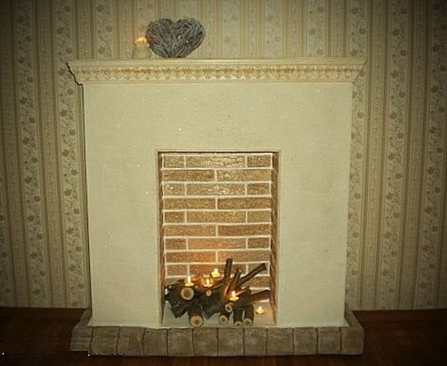 Decorative fireplace trim can be quite functional detail of the interior