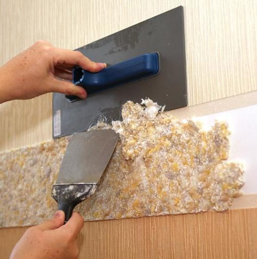 Application of liquid wallpaper
