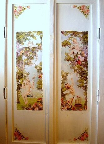 Option decoration door ( decoupage )
