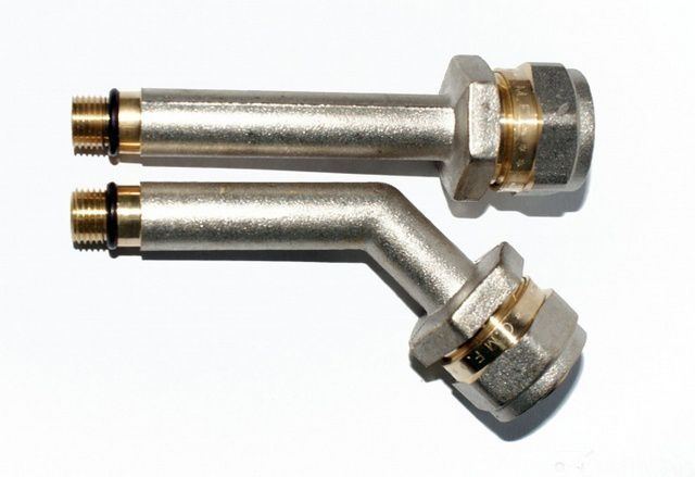 Fittings (needles ) with fittings for metal-base