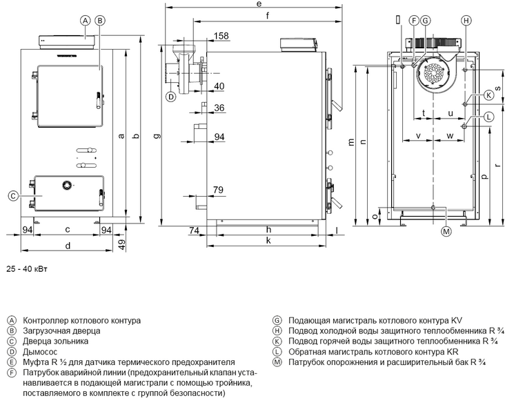 Drawing pyrolysis boiler