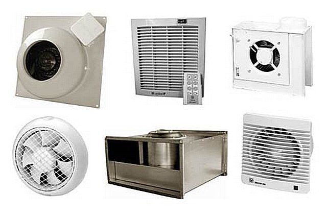 Different types of fans for domestic boilers