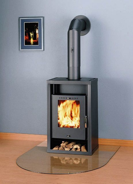 The chimney for stoves