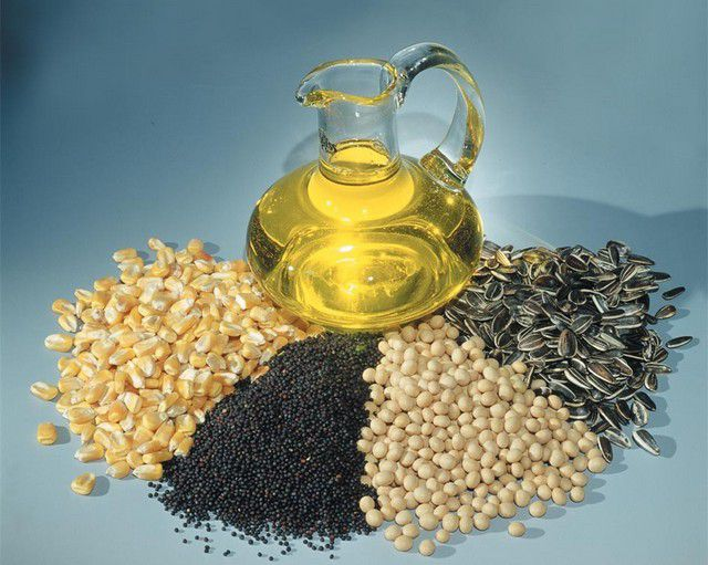 Products for the production of technical vegetable oil - a raw material for production of biodiesel