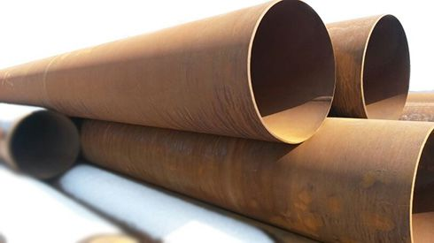 Steel pipe for boiler manufacturing
