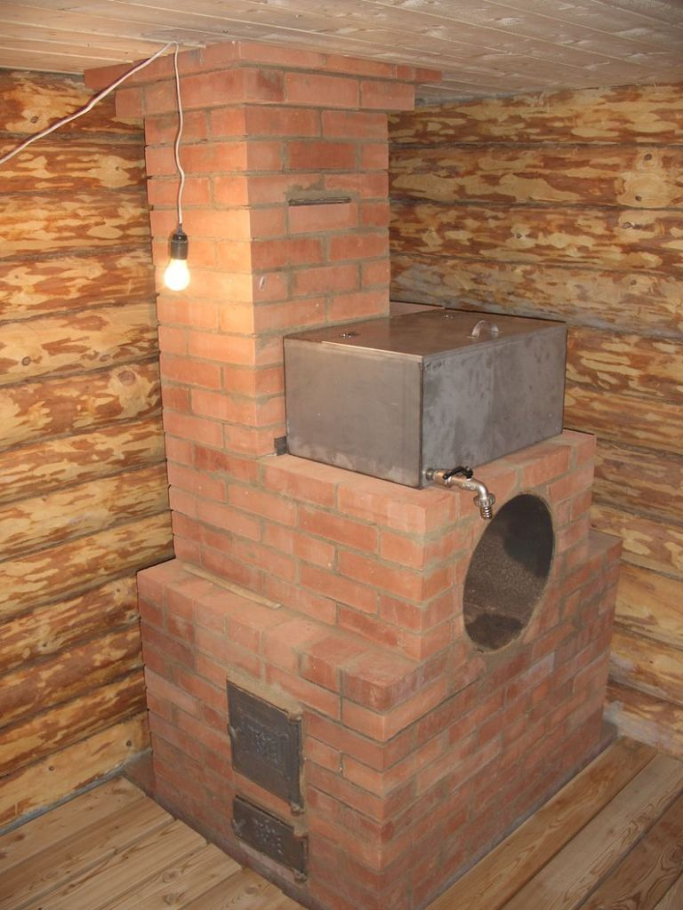 The furnace for sauna ( heater )
