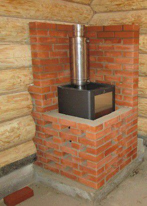 Installation of bath furnace
