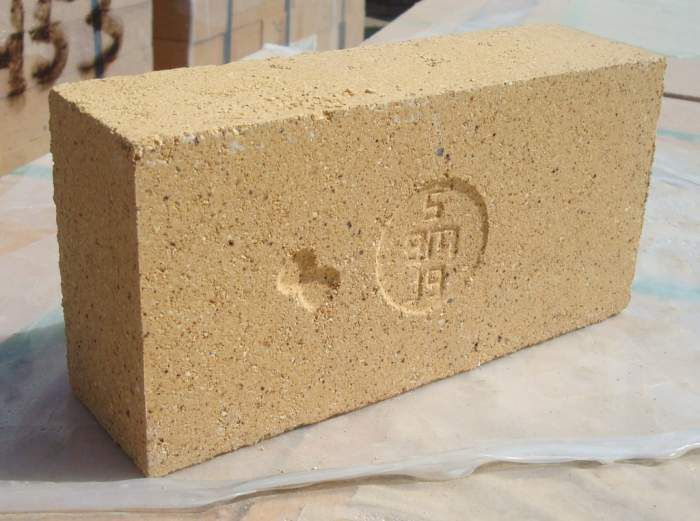 aluminous brick