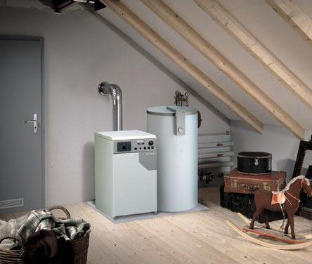 Domestic gas heating boilers