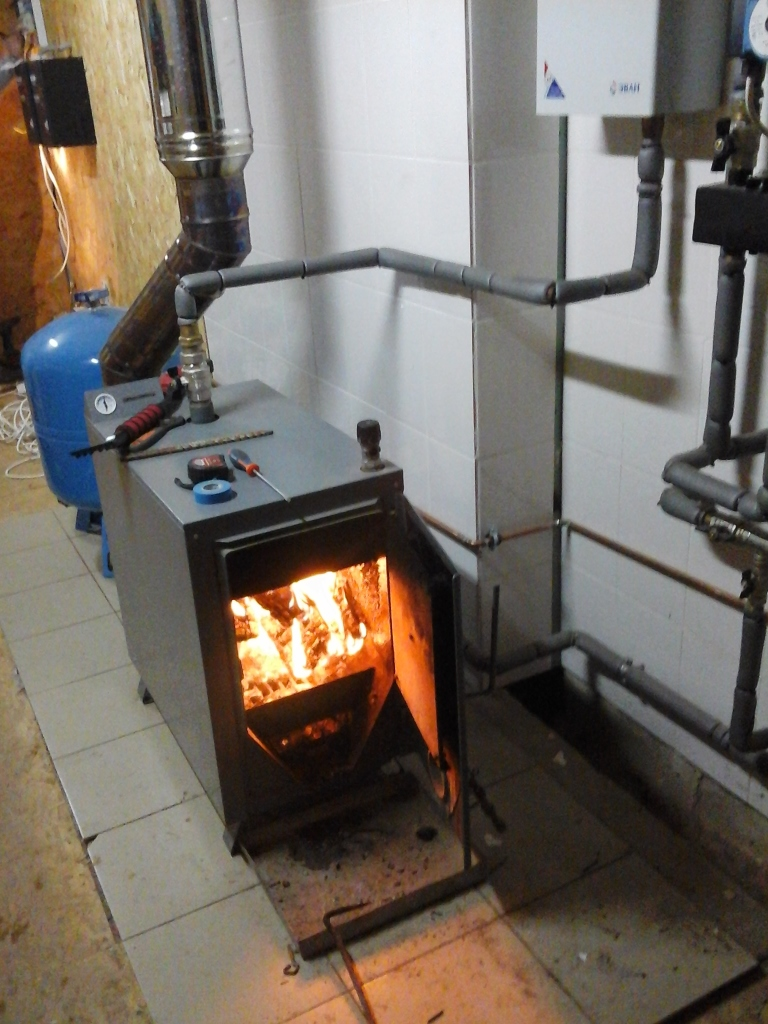 Solid fuel heating