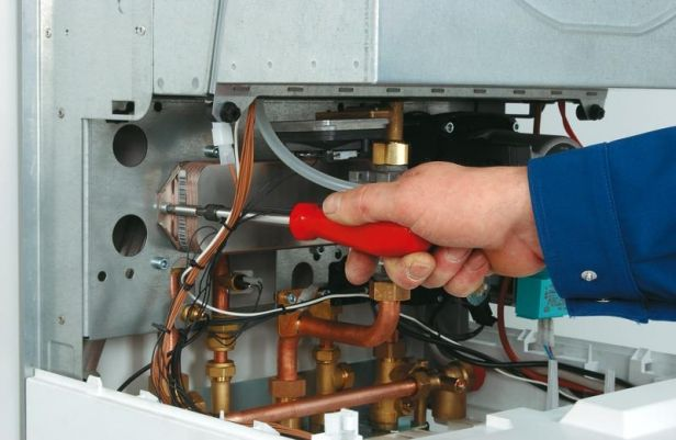 Servicing boilers