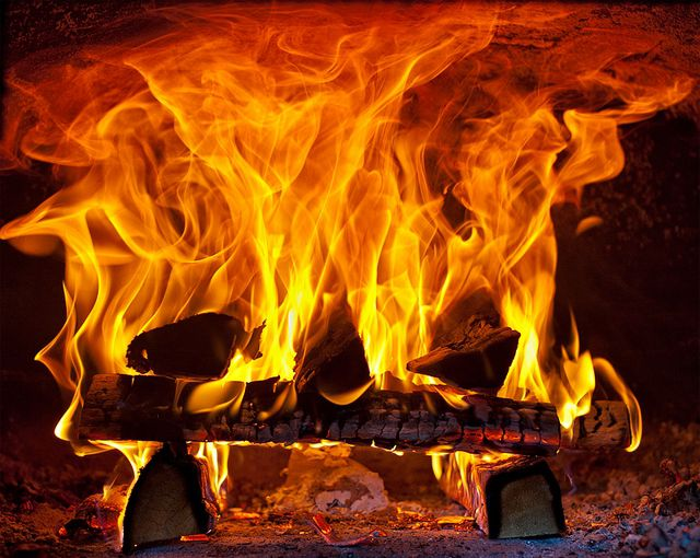 In normal combustion of the wood is not used in its entirety are incorporated in the energy potential