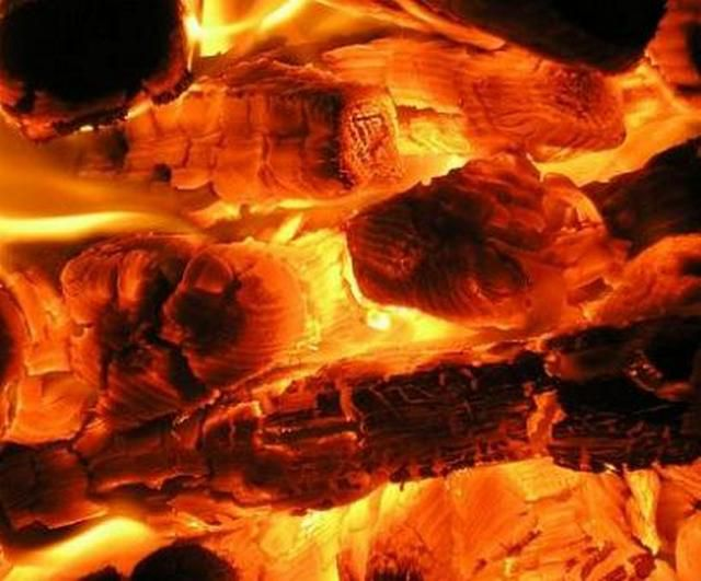 Burning wood with a limited intake of oxygen leads to the formation of pyrolysis gases , which are an excellent fuel