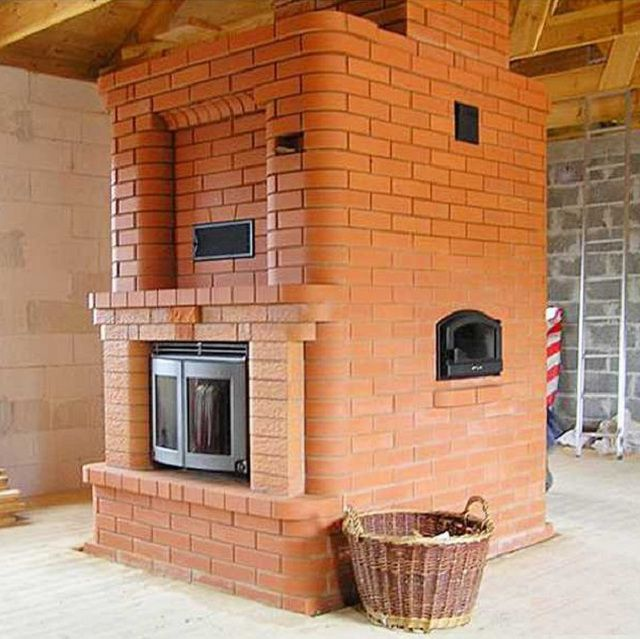 How to lay down their arms oven made ​​of brick