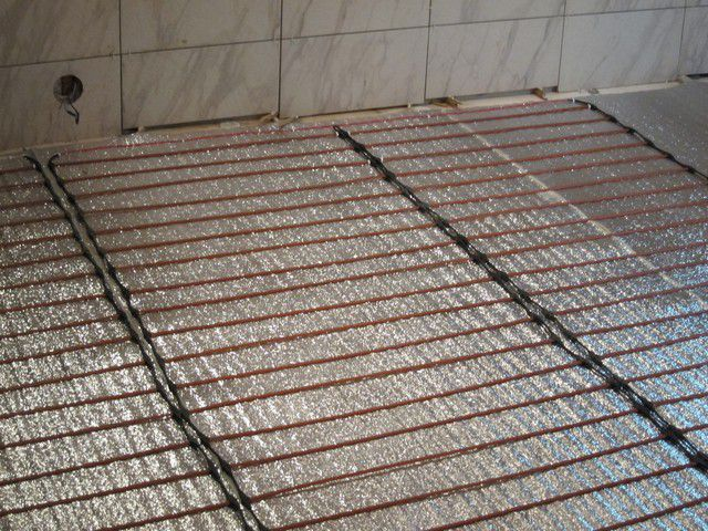 Rod Infrared mat - the most modern solution to floor heating