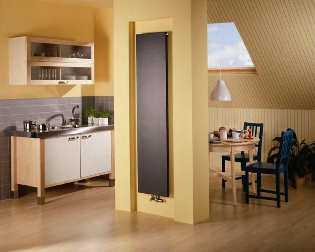 Panel steel radiators can easily fit into any decor