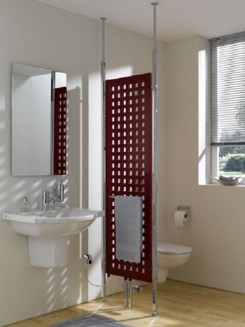 The tubular radiator is a kind of wall in the room bathrooms