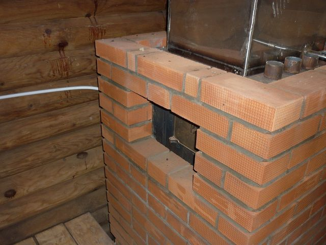 Make sure the vents are left around the chimney
