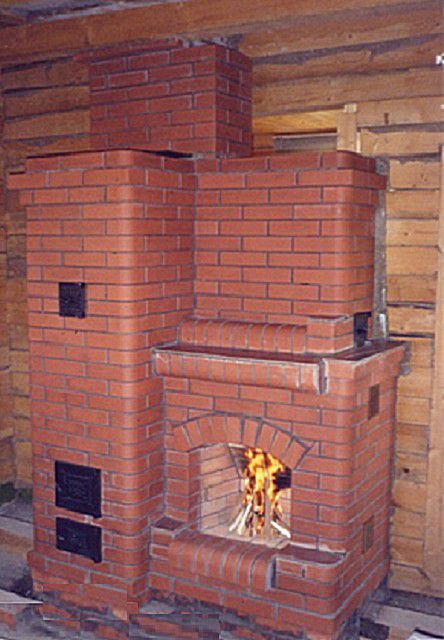 Compact enough pristennaja stove