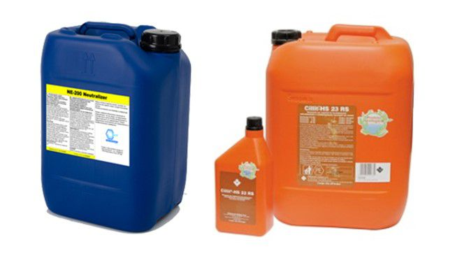 Chemicals for the heating system