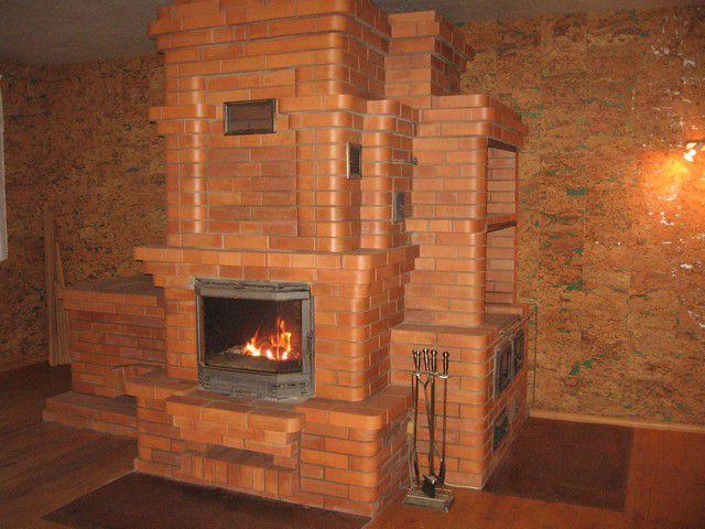Stoves and fireplaces are still used in country houses
