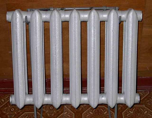 Cast iron sectional radiators - timeless classics