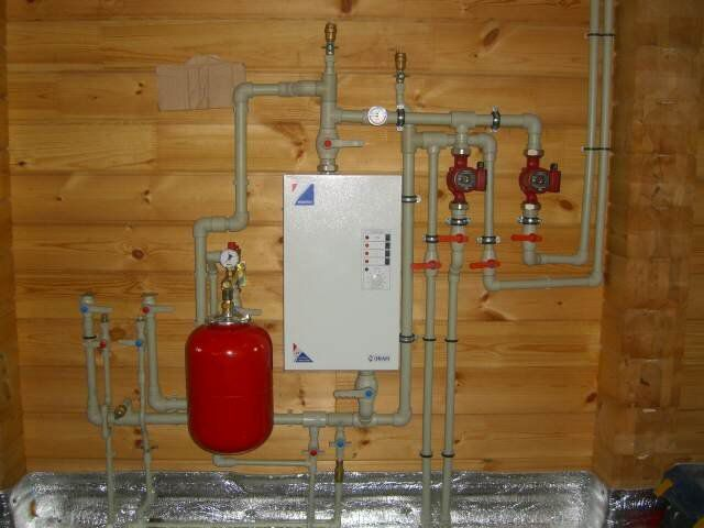 Compact electric boiler