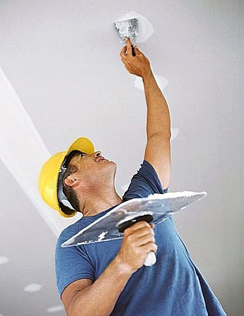 How putty ceiling for painting