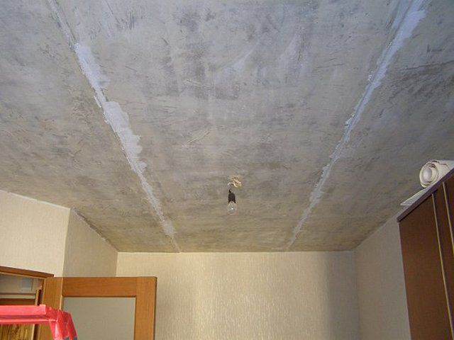 How to seal the joints between the panels on the ceiling