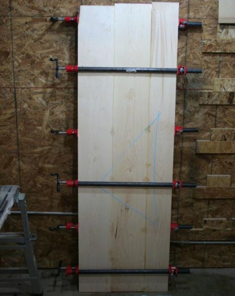Glued boards