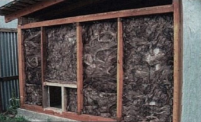 Optimal insulation for walls - mineral wool