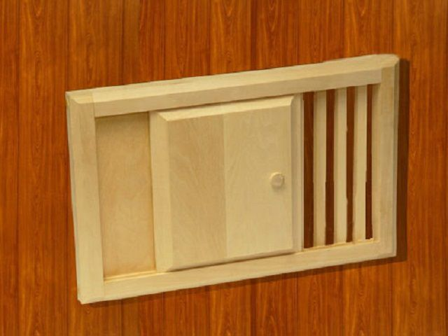 ventilation window size must match the volume of the bath room