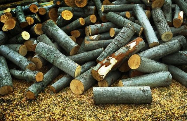 Aspen firewood for sauna use is unprofitable - small heat