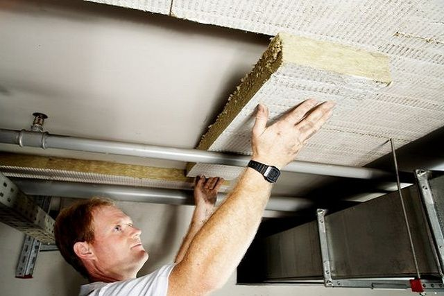 To create the optimal temperature conditions should insulate the cellar ceiling