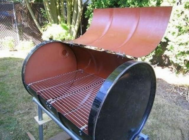 Barrel - an excellent raw material for the manufacture of barbecue