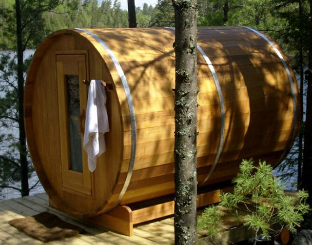 Barrel - sauna