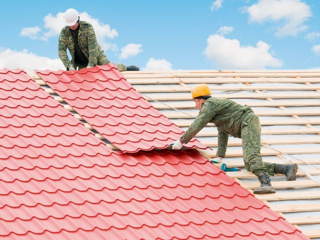 How to cover the roof of metal tile