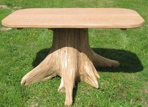 The table from the stump