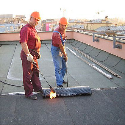 Soft roll roofing