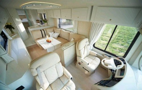 The most luxurious in the world of mobile home