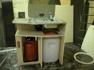 Kitchen for motorhomes