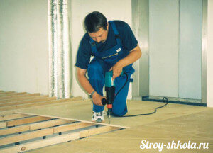 Repair floor using plywood floor repair using plywood