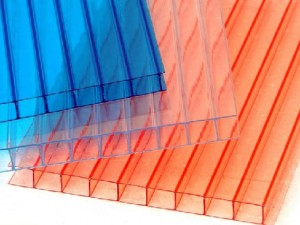 Types of polycarbonate colors for building the gazebo
