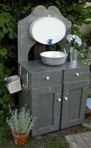 Washbasin with top