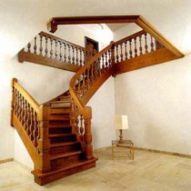 How to make a stairway to the second floor ?