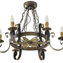 How to hang a chandelier on the ceiling of the different types ?
