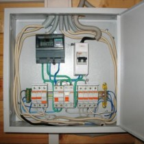 Terms and switchboards installation scheme
